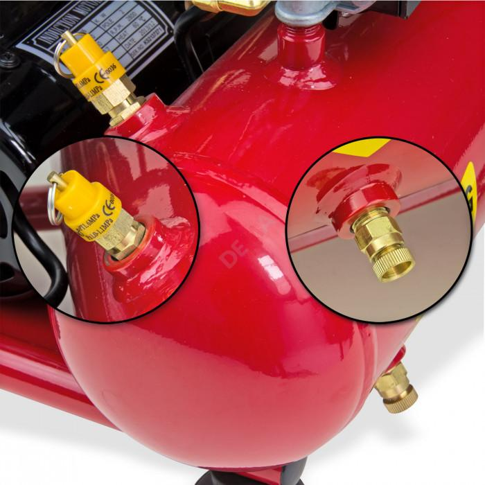 Compresseur 8 bars sans huile 230 Volt