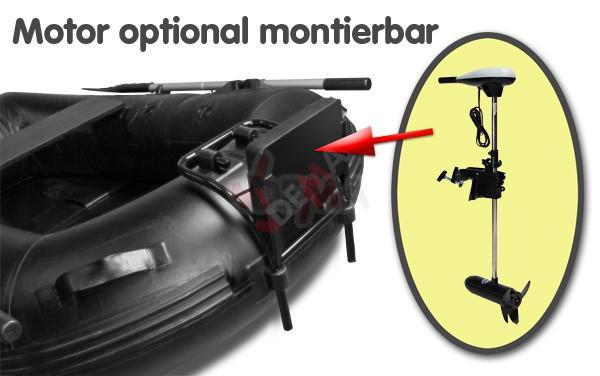 Bâteau gonflable fix kraft 1 personnes modèle SB 180 noir