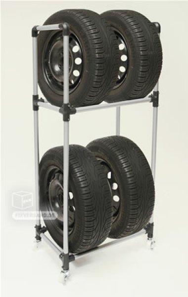 Support porte 4 roues - roulant - VT 130 - VINTEC