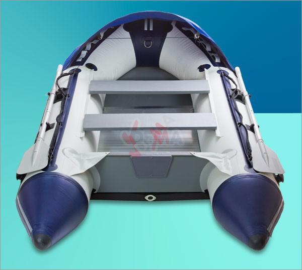 Bateau gonflable Fix Kraft  Plancher aluminium Modèle FK 370