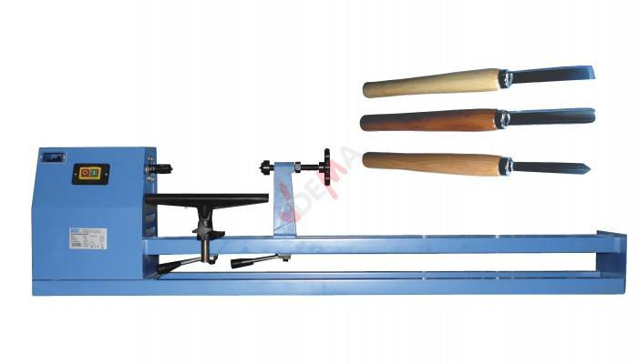 Tour à bois 1000 - en set avec 3 ciseaux à bois