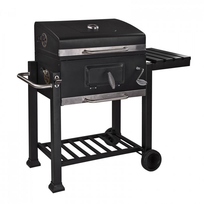 """Barbecue à Charbon - cuve à charbon réglable en hauteur """"Houston"""""""