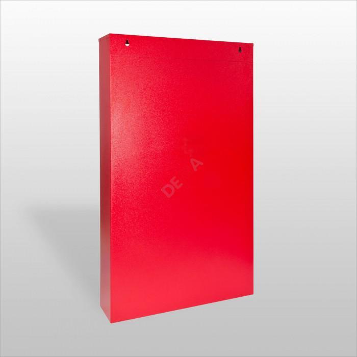 Panneau mural de rangement 48 compartiments de couleur rouge RAL 3020
