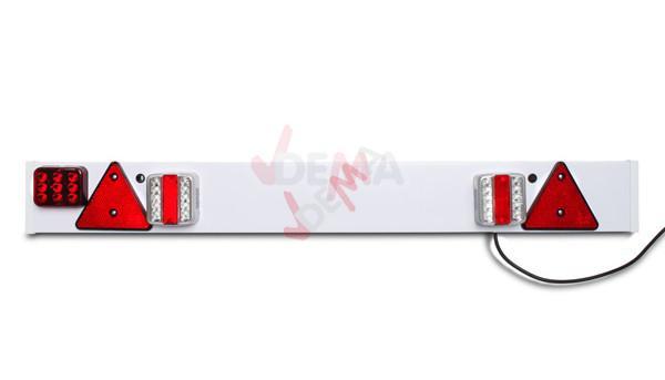 rampe de signalisation pvc pour remorque led 12 v accessoires. Black Bedroom Furniture Sets. Home Design Ideas