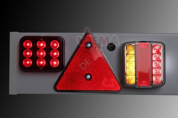 Rampe de signalisation pour remorque LED 12 V
