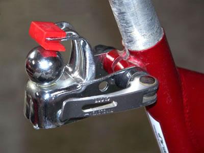"""Remorque """"BAGAGERE"""" pour vélo"""