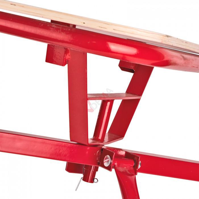 Charrette à bras - chariot - remorque à main en bois L725 FUN