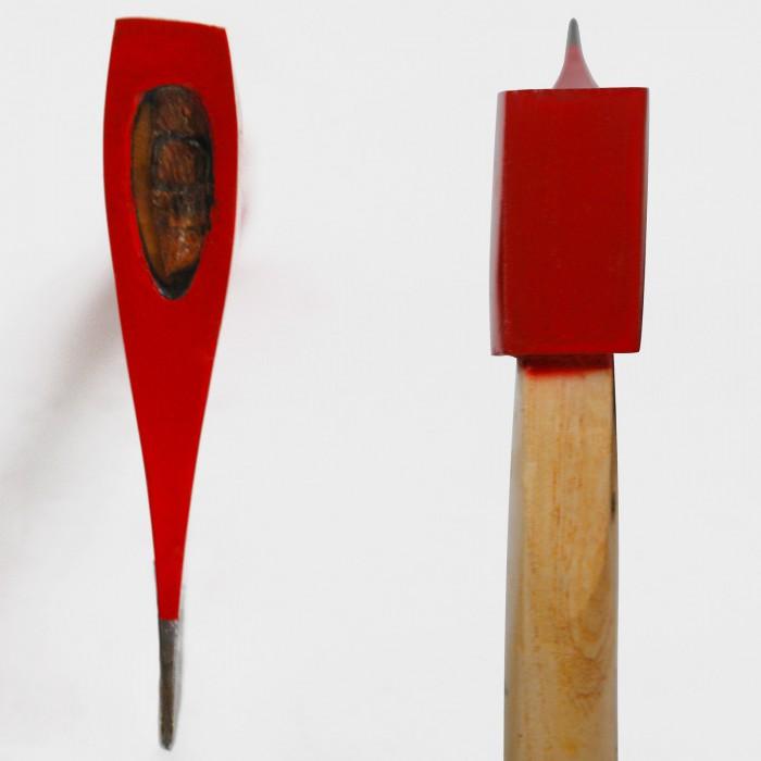 Hache avec manche en bois de frêne 750 g / 40 cm