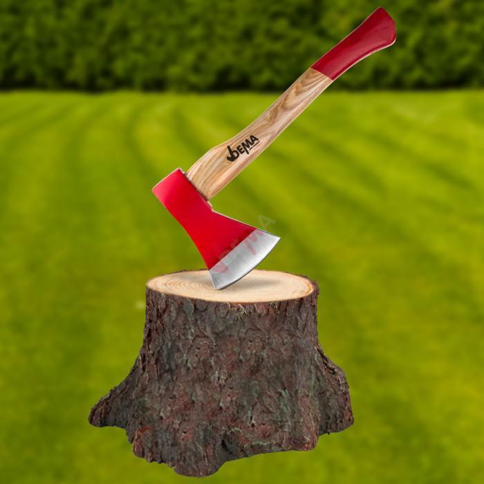 Hache avec manche en bois de frêne 800 g / 41 cm