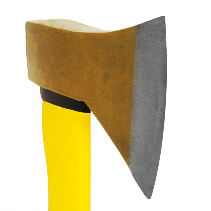 Hache avec manche en fibre de verre 1250 g / 70 cm