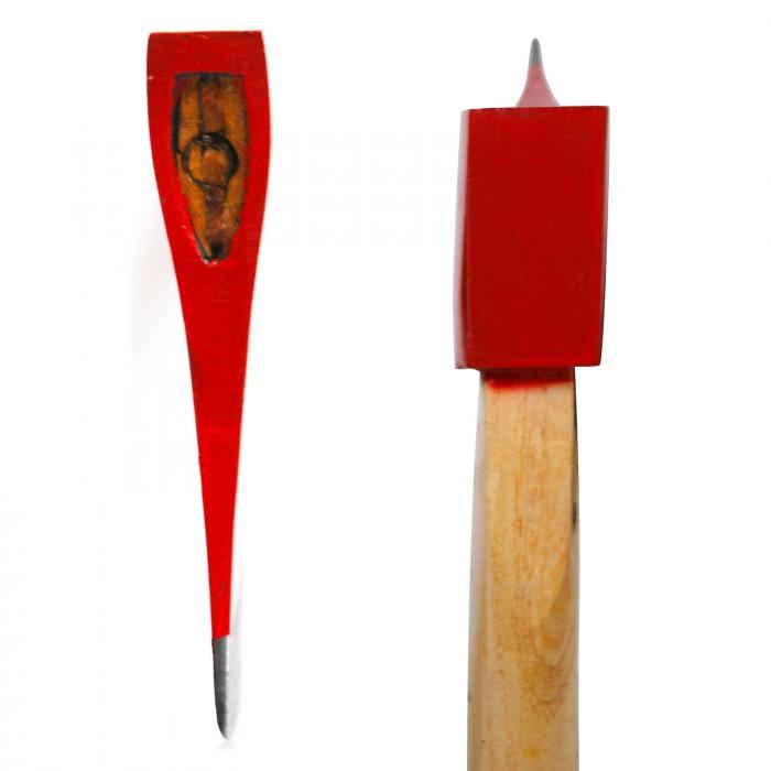 Hache avec manche en bois de frêne 1800 g / 72,5 cm