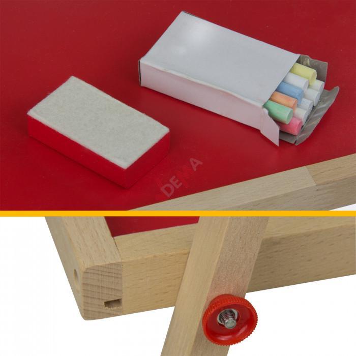 Tableau - chevalet - enfant avec dévidoir papier