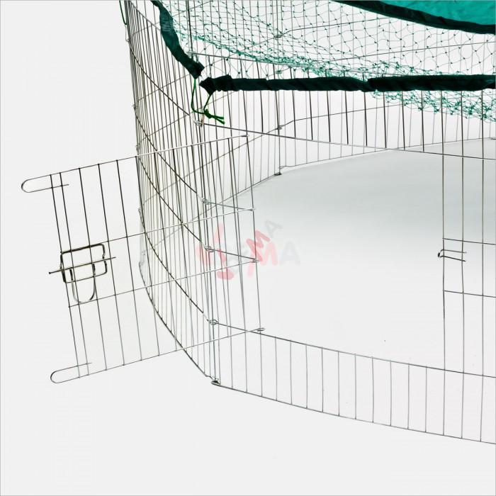 Enclos extérieur FG137 - Parc pour petits rongeurs - lapins - tortues