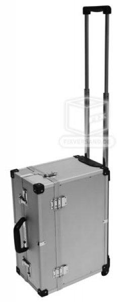 Valise trolley pilote alu intérieur 440 x 190 x 310 mm