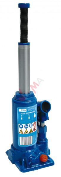Cric bouteille hydraulique 2 T