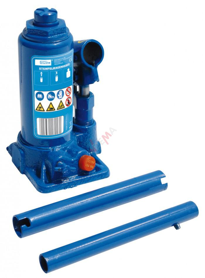 Cric bouteille hydraulique 2 T