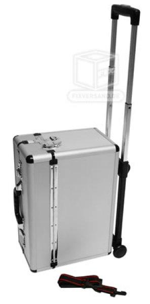 "Valise ""ROUND CORNER"" - valise Pilote - entièrement en ALU"