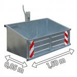 Benne agricole 3 points LSL 15 galvanisé - avec dispositif de bascule