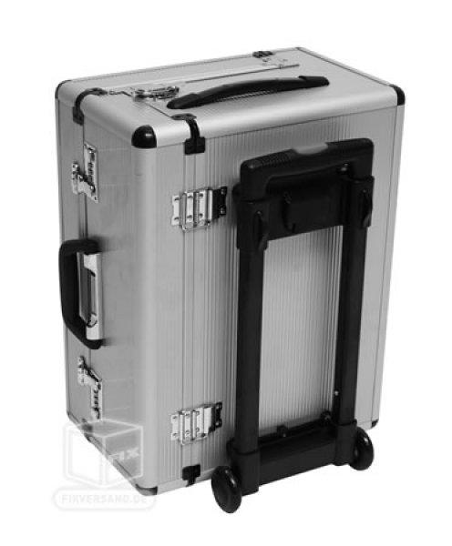 Valise trolley alu qualité supérieure intérieur 450 x 210 x 345 mm