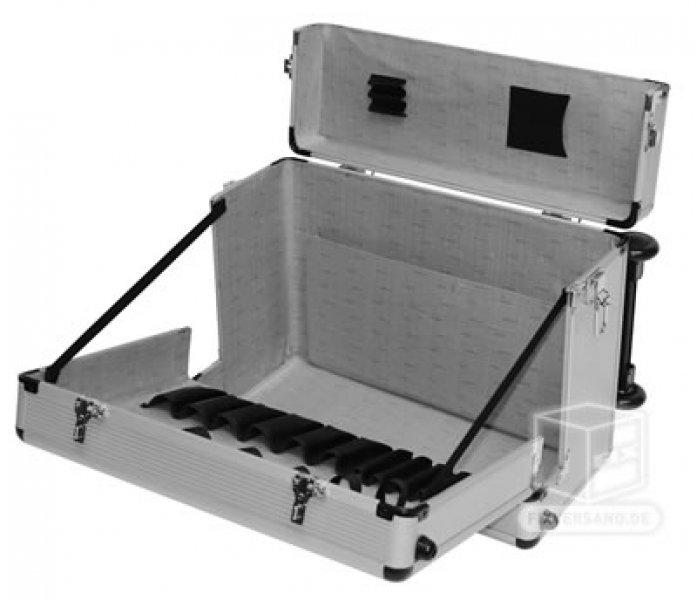Valise trolley alu intérieur 450 x 210 x 345 mm Mallette pilote