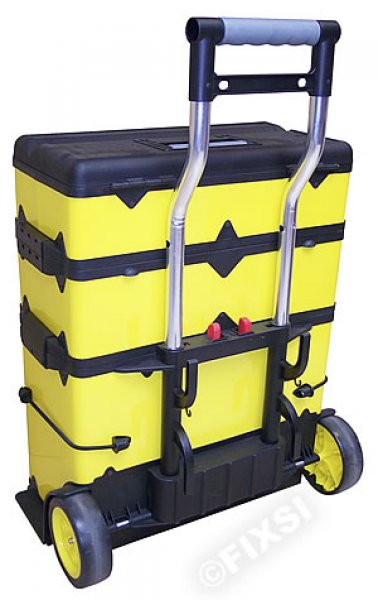 valise trolley pvc jaune fluo valise transport. Black Bedroom Furniture Sets. Home Design Ideas