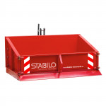 Benne agricole 3 points Basic 150 avec dispositif de bascule sécurisé