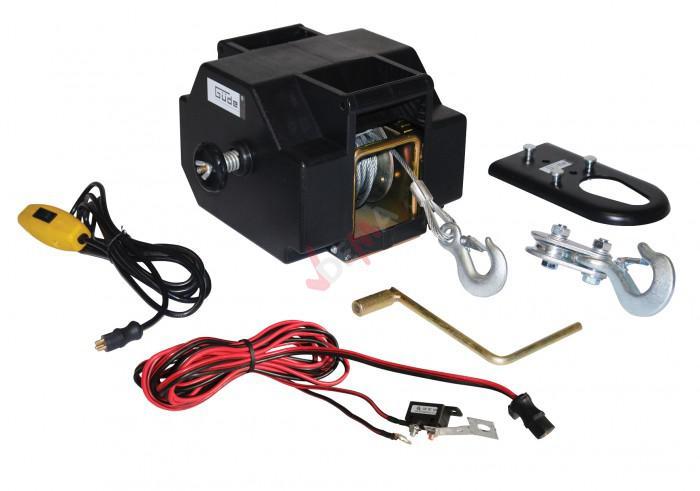 Treuil électrique 1800 kg / 12 V