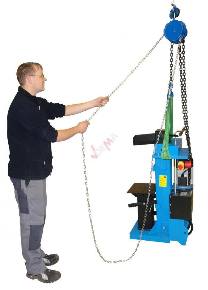 Palan à chaine 2 tonnes - Chaine de commande 2,5 m / de charge 3 m