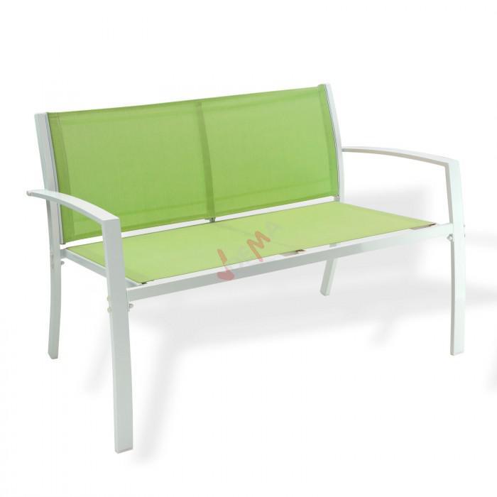 Salon de jardin ``Miami´´ vert 4 personnes