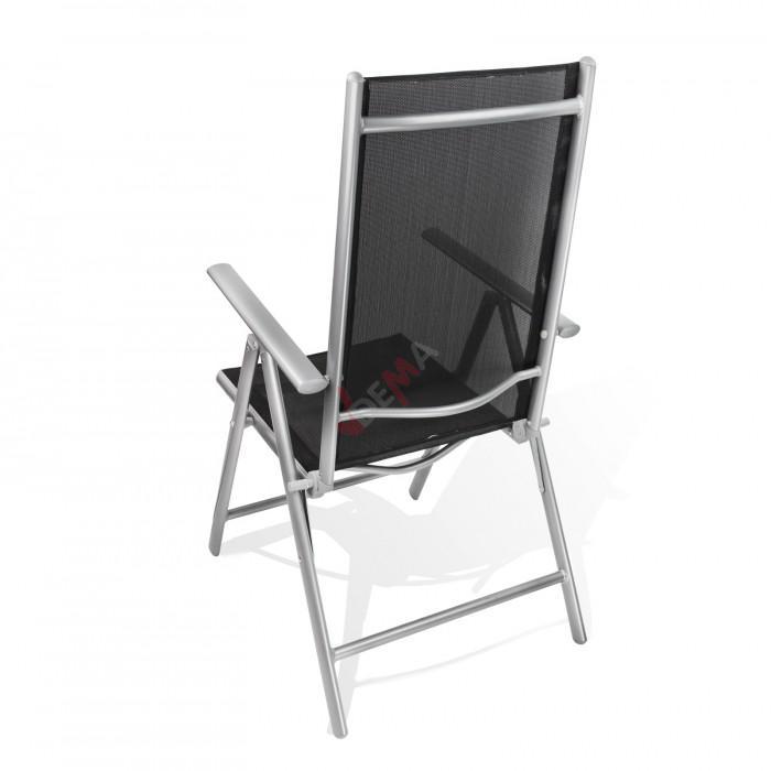 "Chaise pliante en aluminium ""Rimini"""