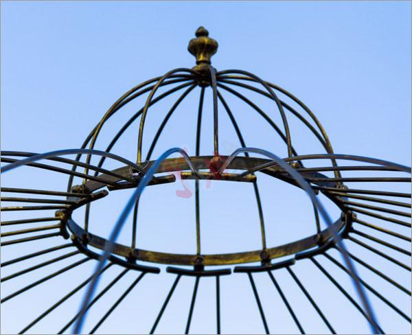 """Arche / Pavillon en métal """"Exclusif"""""""