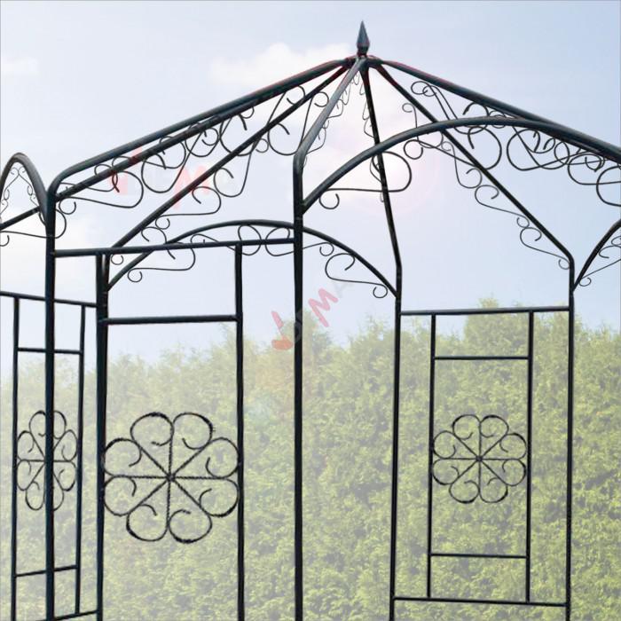 """Arche / Pavillon en métal """"Vienne"""""""