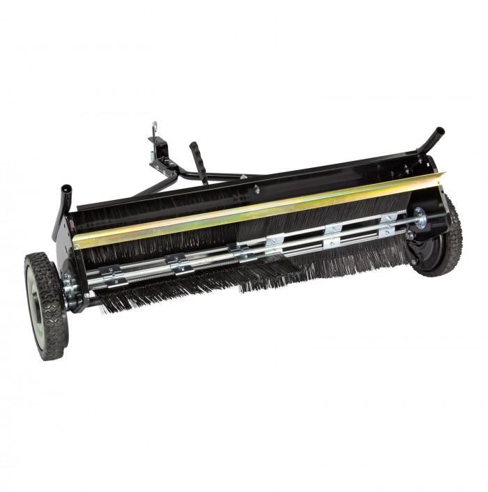 Balayeuse à feuilles et à gazon pour tracteur tondeuse 120 cm