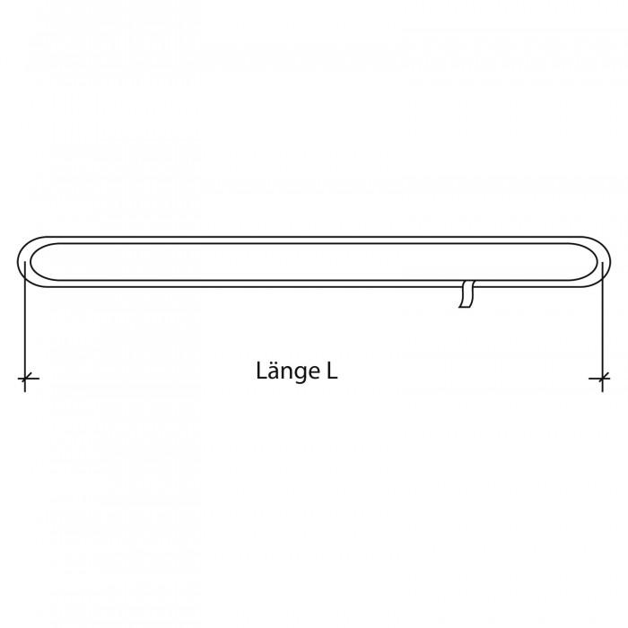 Élingue textile ronde sans fin 3 Tonnes 2 mètres sans fourreau