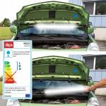 Baladeuse néon 120 LED  Pour capot de voiture - lampe