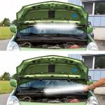 Baladeuse néon 120 LED  Pour capot de voiture