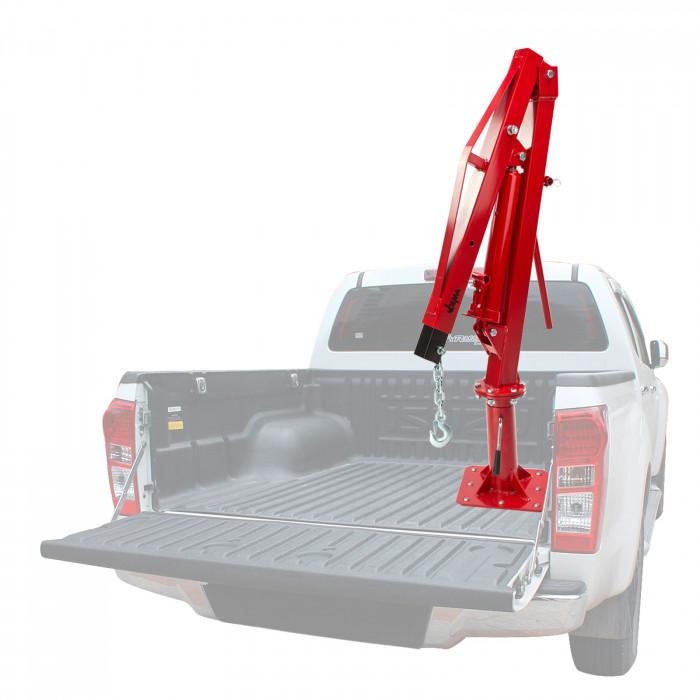 Grue de Pick-Up DPK 1000 - Capacité de levage 500 kg