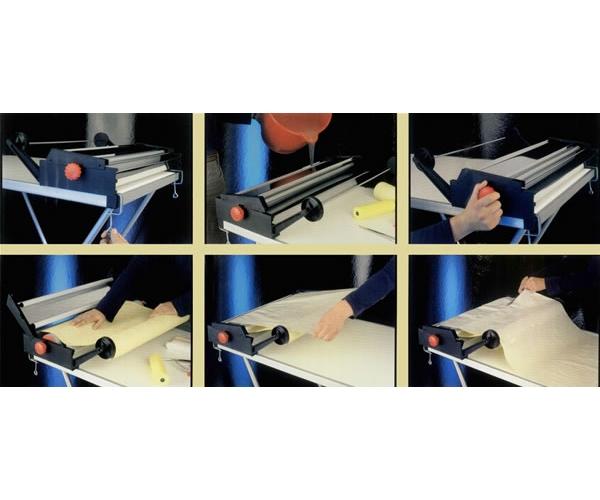 machine encoller papier peints encolleuse pour papier peint outillage main. Black Bedroom Furniture Sets. Home Design Ideas