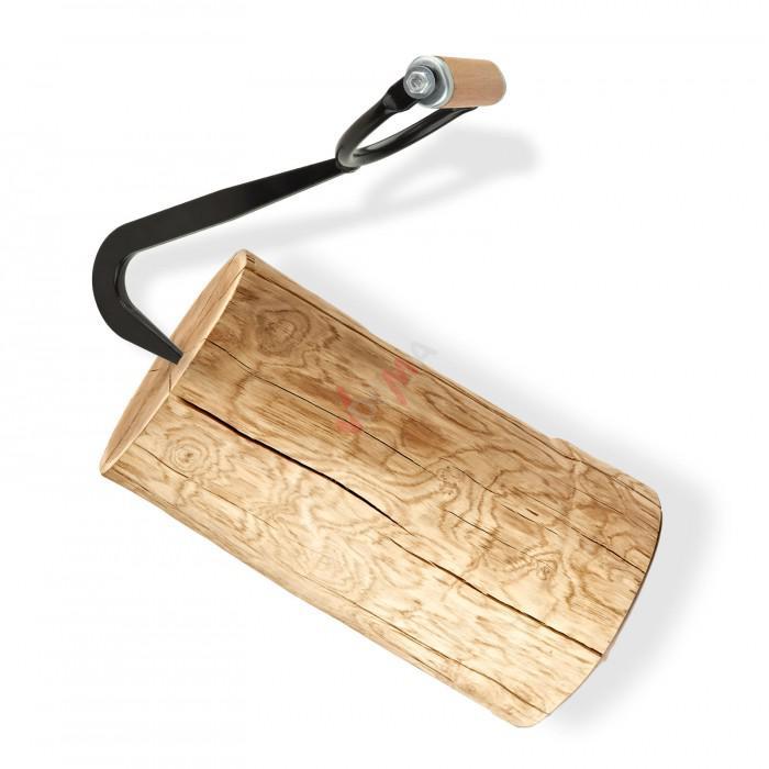 Crochet de levage pour travaux forestier 1400 g