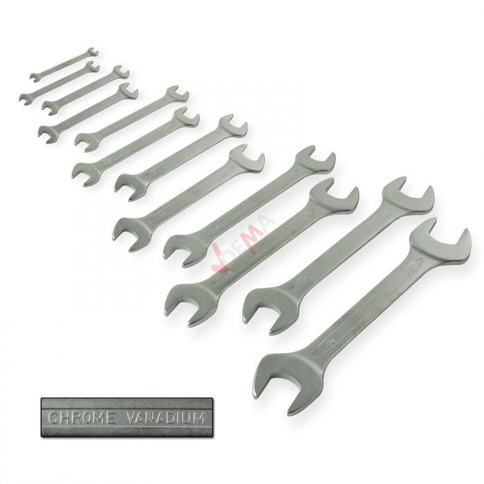 Module clés plates et clés à oeil contre coudées 6-32 pour servante