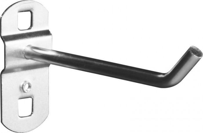 Crochet à 45° long pour panneau perforé