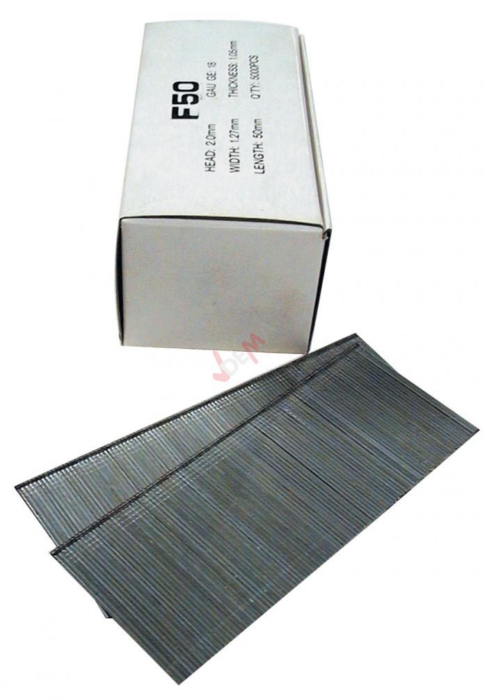 Pointes à tête pour cloueur 50 mm - pour cloueuse G40212 G40402 G40220