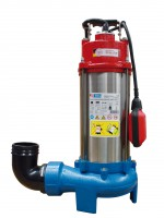 Pompe immergée à pression pour eaux chargées ou eaux sales PRO 2201S
