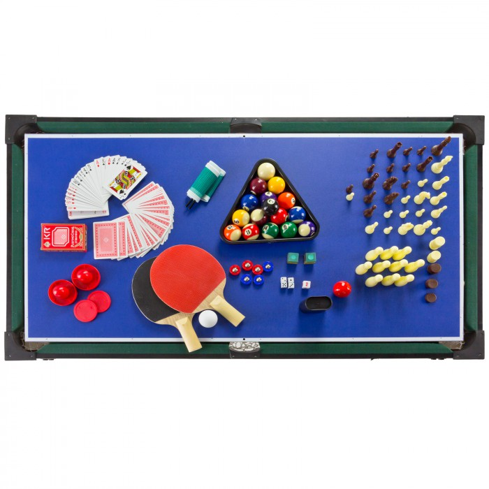 Table multi jeux 13 en 1 baby foot billard tennis table bowling etc