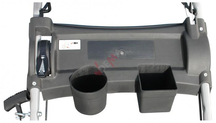 Tondeuse thermique autotractée BIG WHEELER 515 4 EN 1