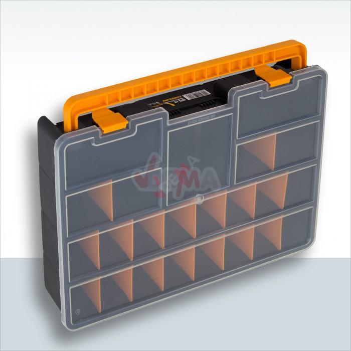 Boite de rangement PVC couvercle transparent