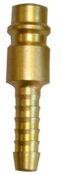 Raccord rapide avec cannelure diam 6 mm - lot de 3