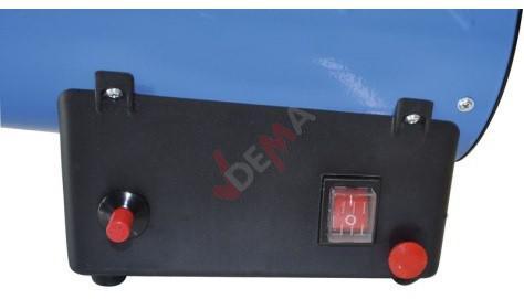 Chauffage d'atelier canon soufflant à gaz GGH 10 KW