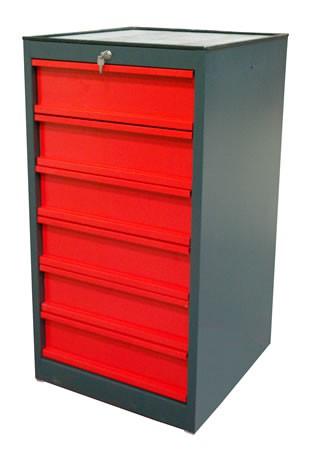 Armoire servante d'atelier 6 tiroirs