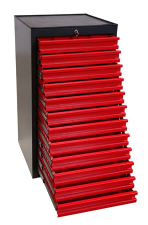 Armoire servante d'atelier 12 tiroirs